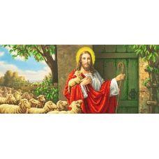 SI-248 (24*55) Иисус стучится в двери. Схема для вышивки бисером СвитАрт