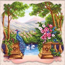 SI-265(27*27) Дивный сад. Схема для вышивки бисером СвитАртАрт
