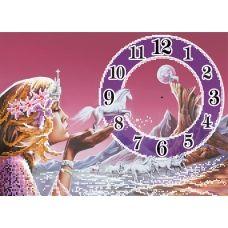 SI-269 Часы-ангелочек. Схема для вышивки бисером СвитАрт