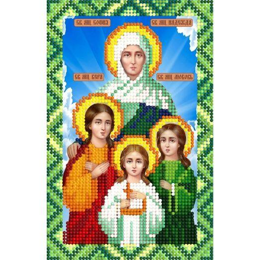 388 София, Вера,Надежда,Любовь. Схема для вышивки бисером СвитАрт