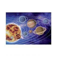 А3-К-546 Солнечная система. Схема для вышивки бисером ТМ Acorns