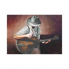 А3-К-859 Соло на гитаре. Схема для вышивки бисером ТМ Acorns