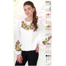 Sor10 Заготовка сорочки для девочки БисерАрт
