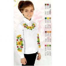 Sor102 Заготовка сорочки для девочки БисерАрт