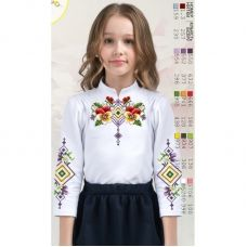 Sor104 Заготовка сорочки для девочки БисерАрт