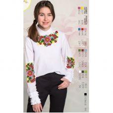 Sor105 Заготовка сорочки для девочки БисерАрт