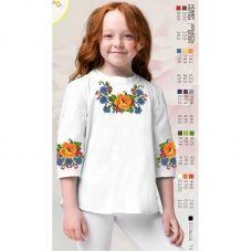 Sor106 Заготовка сорочки для девочки БисерАрт