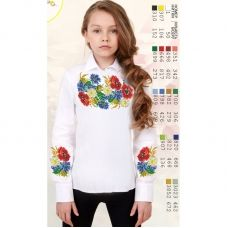 Sor107 Заготовка сорочки для девочки БисерАрт