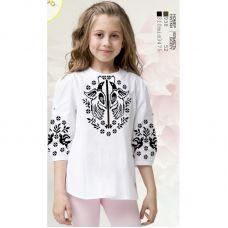Sor109 Заготовка сорочки для девочки БисерАрт