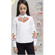 Sor14 Заготовка сорочки для девочки БисерАрт
