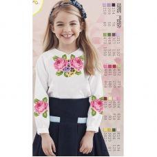 Sor15 Заготовка сорочки для девочки БисерАрт