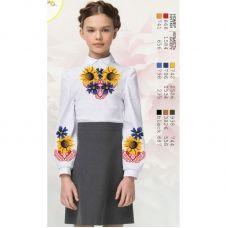 Sor16 Заготовка сорочки для девочки БисерАрт