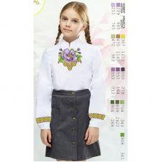 Sor17 Заготовка сорочки для девочки БисерАрт