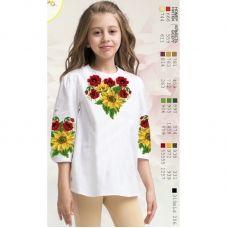 Sor18 Заготовка сорочки для девочки БисерАрт