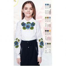 Sor2 Заготовка сорочки для девочки БисерАрт