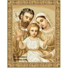 ССВ-Кути (набор) Святое семейство (в золоте). Набор для вышивки бисером. БС Солес