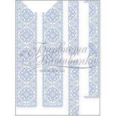 СЧ-027 Бисерная заготовка сорочка. Барвиста Вишиванка