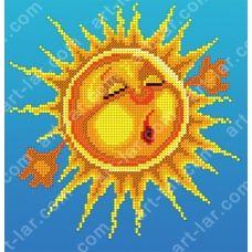 БИС-0119н Солнышко. Набор для вышивки бисером Арт Лар