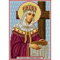 А5-И-061 Святая царица Елена. Схема для вышивки бисером ТМ Acorns