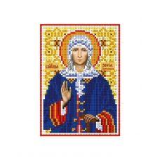 А6-И-102 Святая Ксения Петербургская. Схема для вышивки бисером ТМ Acorns