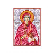 А6-И-110 Святая мироносица Мария Магдалина. Схема для вышивки бисером ТМ Acorns