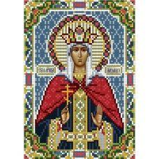 А5-И-031 Святая мученица Александра. Схема для вышивки бисером ТМ Acorns