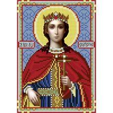 А5-И-060 Святая мученица Екатерина. Схема для вышивки бисером ТМ Acorns