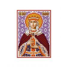 А6-И-107 Святая мученица Людмила. Схема для вышивки бисером ТМ Acorns