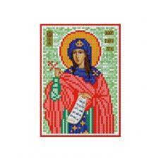А6-И-108 Святая мученица Маргарита. Схема для вышивки бисером ТМ Acorns