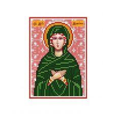 А6-И-112 Святая мученица Мариамна (Марьяна). Схема для вышивки бисером ТМ Acorns