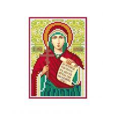 А6-И-115 Святая мученица Наталья. Схема для вышивки бисером ТМ Acorns