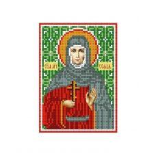 А6-И-119 Святая мученица София. Схема для вышивки бисером ТМ Acorns