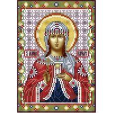 А5-И-038 Святая мученица Варвара. Схема для вышивки бисером ТМ Acorns
