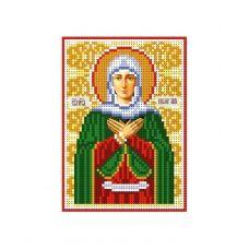А6-И-105 Святая праведная Лия (Лилия). Схема для вышивки бисером ТМ Acorns