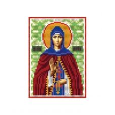 А6-И-109 Святая преподобная Марина. Схема для вышивки бисером ТМ Acorns