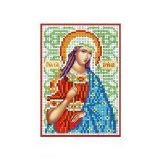 А6-И-097 Святая великомученица Ирина. Схема для вышивки бисером ТМ Acorns