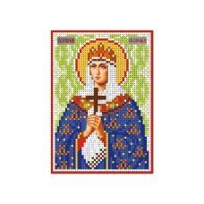 А6-И-117 Святая великомученица княгиня Ольга. Схема для вышивки бисером ТМ Acorns