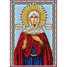 А5-И-053 Святая Виктория Эфесская. Схема для вышивки бисером ТМ Acorns