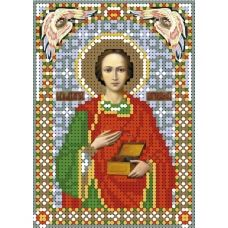 А6-И-149 Святой целитель Пантелеймон. Схема для вышивки бисером ТМ Acorns
