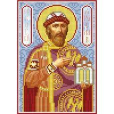 А5-И-180 Святой князь Ярослав. Схема для вышивки бисером ТМ Acorns