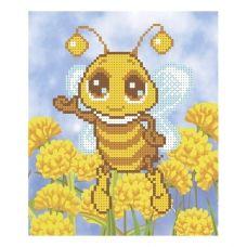 Т-0019 Пчелка. Схема для вышивки бисером. ТМ ВДВ