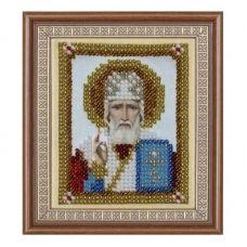 Т-0797 Святой Николай Чудотворец. Схема для вышивки бисером. ТМ ВДВ