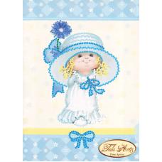 ТД-001 Маленькая Мисс. Схема для вышивки бисером Тела Артис