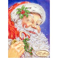 ТД-005 Дед Мороз. Схема для вышивки бисером Тела Артис