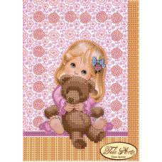 ТД-008 Любимая игрушка. Схема для вышивки бисером Тела Артис