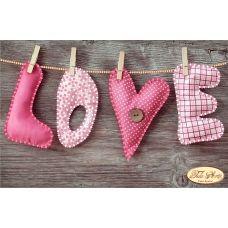 ТД-012 Любовь. Схема для вышивки бисером Тела Артис