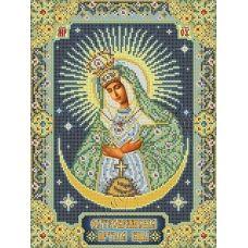 ИК3-0276 Остробрамская икона Божией Матери. Схема для вышивки бисером Феникс