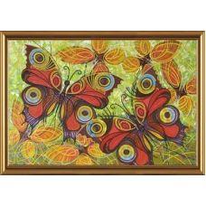 ДК1009 Бабочки. Набор для вышивки бисером Нова Слобода