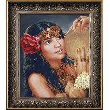Б-021 Юный цветок. Набор для вышивки бисером Магия канвы