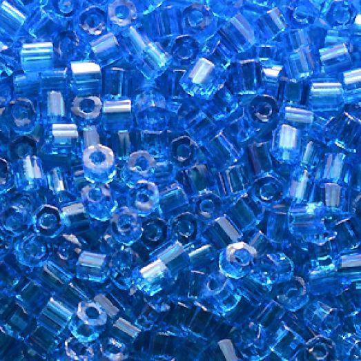 60150 Рубка Preciosa прозрачная голубая натуральная